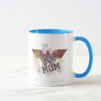 Técnicas mixtas de la mamá de la maravilla taza
