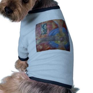 Técnicas mixtas de la meditación #3 camisetas de perro