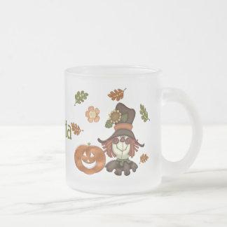 Técnicas mixtas del país de octubre taza de café