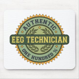 Técnico auténtico de EEG Tapetes De Ratones