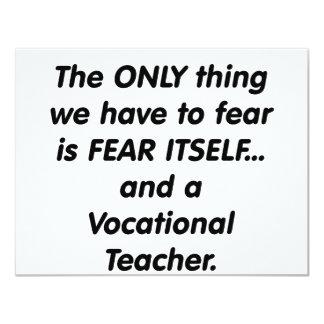 técnico de formación profesional del miedo comunicado