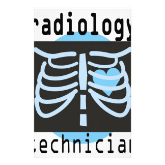 Técnico de la radiología papelería