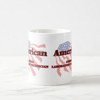 Técnico de laboratorio animal americano taza básica blanca