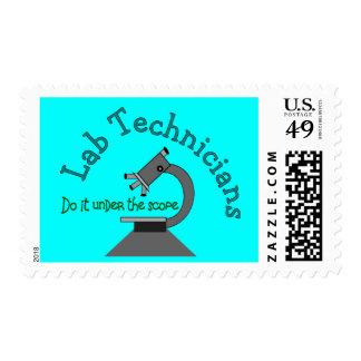Técnico de laboratorio envio