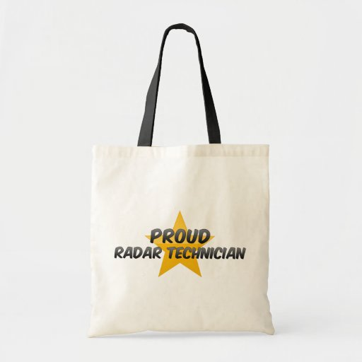 Técnico de radar orgulloso bolsa