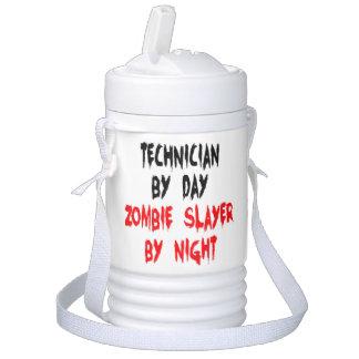 Técnico del asesino del zombi enfriador de bebida igloo