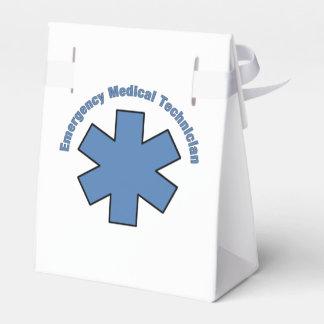 Técnico médico de la emergencia de EMT Cajas Para Regalos De Fiestas