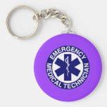 Técnico médico de la emergencia de EMT Llavero Personalizado