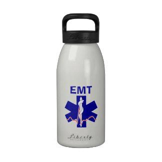 Técnico médico de la emergencia EMT Botellas De Agua Reutilizables