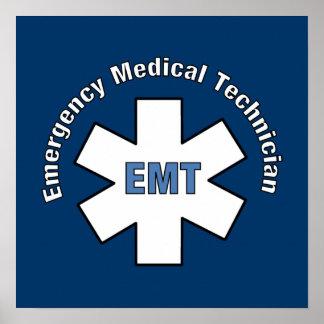 Técnico médico de la emergencia posters