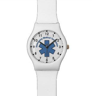 Técnico médico EMT de la emergencia Relojes De Pulsera