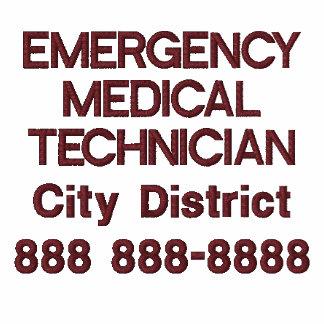 Técnico médico personalizado EMT de la emergencia Camiseta Polo