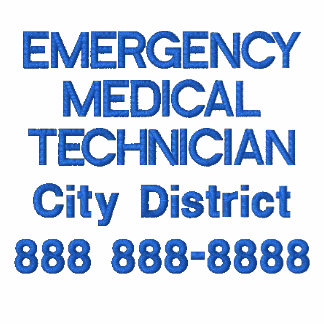 Técnico médico personalizado EMT de la emergencia Polo