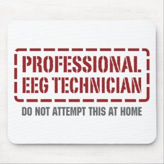 Técnico profesional de EEG Alfombrilla De Ratones