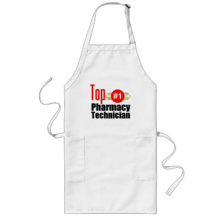 Técnico superior de la farmacia delantales