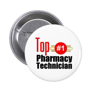 Técnico superior de la farmacia pin redondo 5 cm