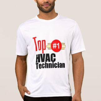 Técnico superior de la HVAC Camisetas