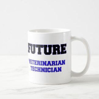 Técnico veterinario futuro tazas de café