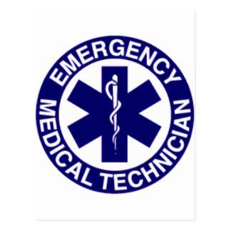 TÉCNICOS MÉDICOS EMT DE LA EMERGENCIA TARJETA POSTAL