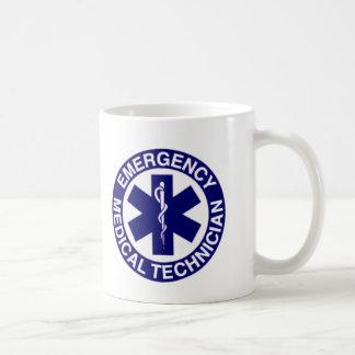 TÉCNICOS MÉDICOS EMT DE LA EMERGENCIA TAZA CLÁSICA