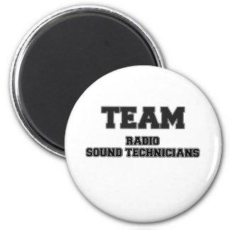 Técnicos sanos de radio del equipo imanes para frigoríficos