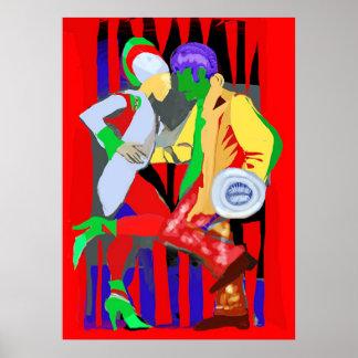 Tecno del tango póster