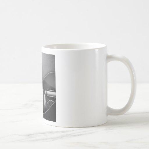 Tecnología avanzada fresca abstracta tazas de café