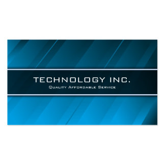 Tecnología azul genérica del brillo ÉL - tarjeta Tarjetas De Visita