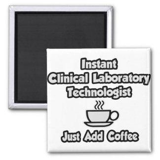 Tecnología clínica inmediata del laboratorio. Apen Imán De Nevera