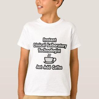Tecnología clínica inmediata del laboratorio. playera