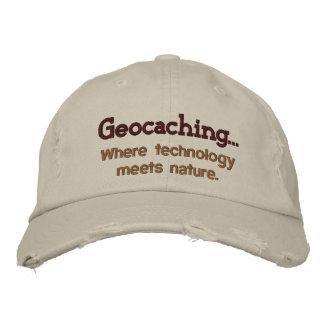 Tecnología de Geocaching+Gorra bordado naturaleza Gorro Bordado