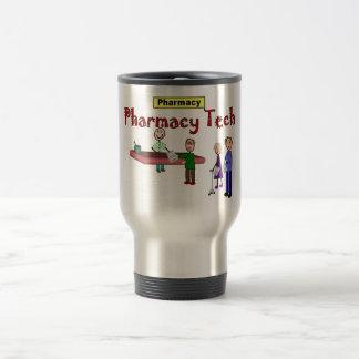 Tecnología de la farmacia con diseño de los client tazas