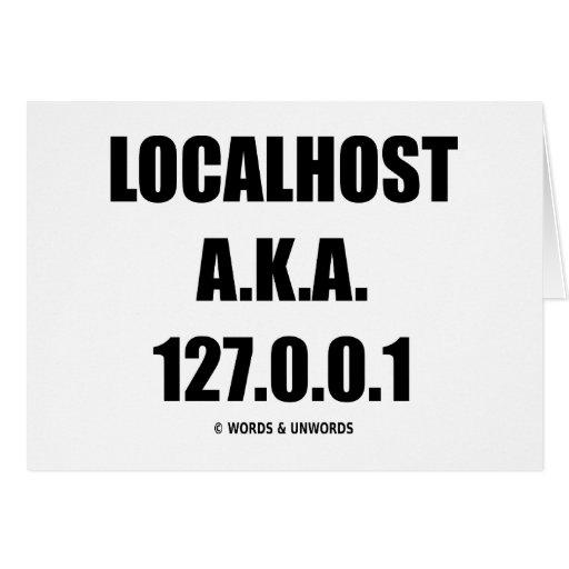 Tecnología de la información de Localhost A.K.A. 1 Tarjetón