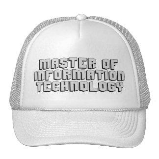 Tecnología de la información gorras de camionero
