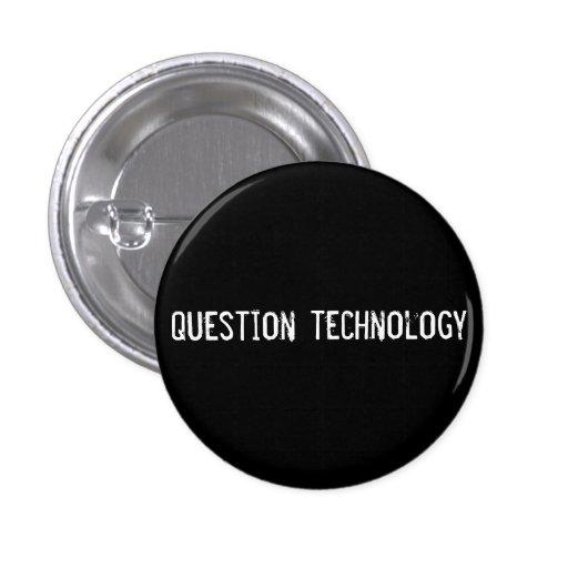 tecnología de la pregunta pin