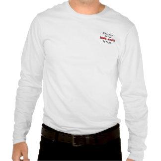Tecnología de la radiografía/cazador del zombi camisetas