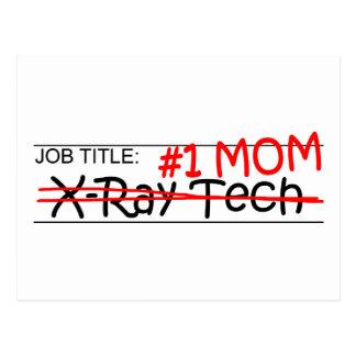 Tecnología de la radiografía de la mamá del postal