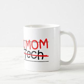 Tecnología de la radiografía de la mamá del taza de café
