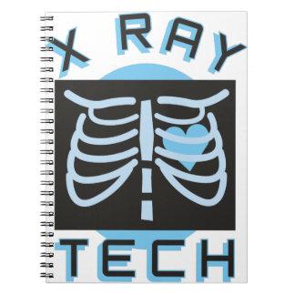 Tecnología de la radiografía notebook