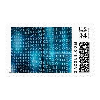 Tecnología de los datos virtuales con la franqueo