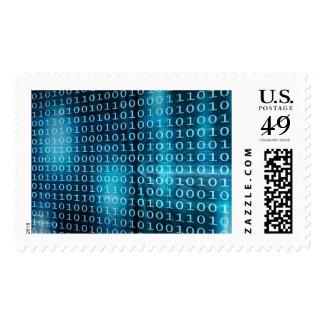 Tecnología de los datos virtuales con la sellos