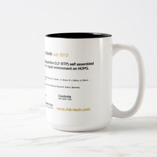Tecnología de RHK - julio de 2012 taza de café de
