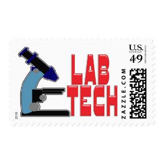 TECNOLOGÍA del LABORATORIO con el MICROSCOPIO Sello