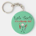 """Tecnología del laboratorio """"es un trabajo sangrien llaveros personalizados"""