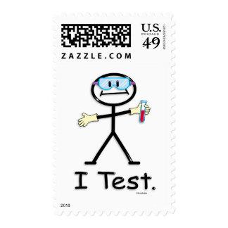 Tecnología del laboratorio médico sello