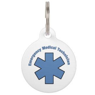Tecnología del MED de la emergencia de EMT Placas De Mascota