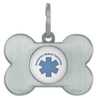 Tecnología del MED de la emergencia Placas Mascota