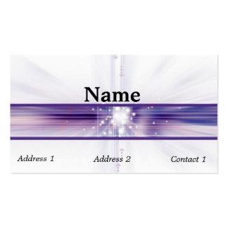 Tecnología del ordenador - plantilla de la tarjeta tarjeta de visita