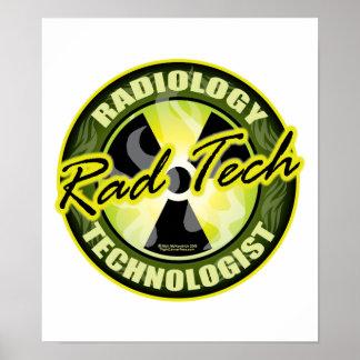 Tecnología del Rad Póster