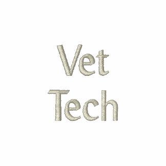 Tecnología del veterinario sudadera bordada